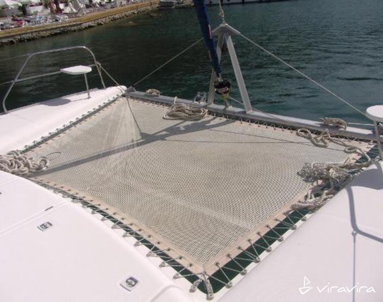 Slider trampoline