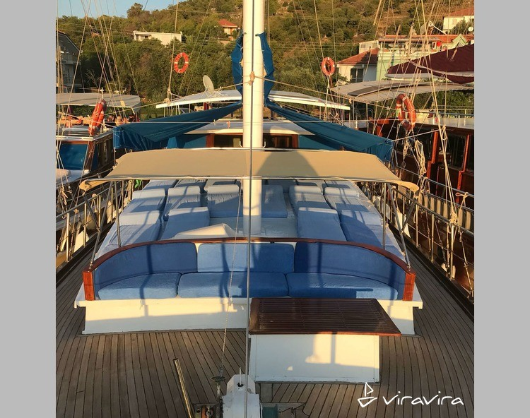 Slider yacht charter marmaris